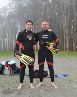 Lucas y Juanra, instructores de SOS NORTE.